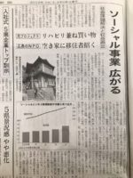 「メディア掲載」日経新聞掲載(4月2日)